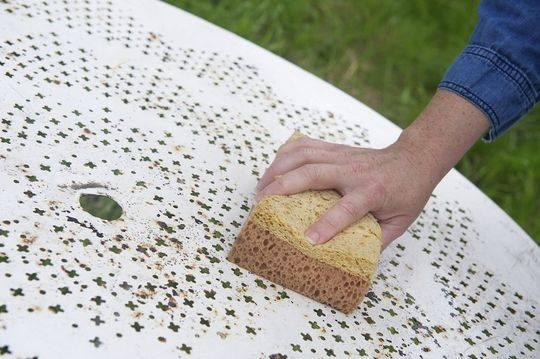 Nettoyer Un Salon De Jardin En Fer Forg Les Astucieux
