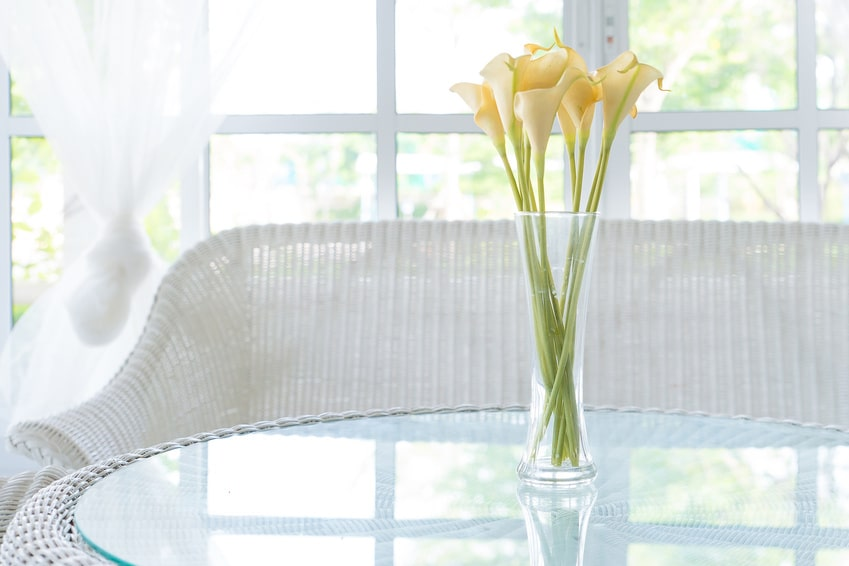 Nettoyer parfaitement des vases en verre